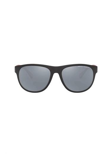 Armani Exchange  Aynalı Gözlük Erkek Gözlük 0Ax4096S 80786G 57 Siyah